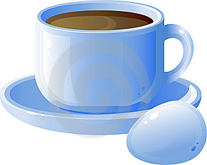 Cup Of Coffee And Egg Stock Images - Image: 7908234