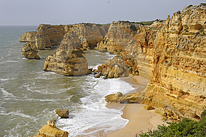Algarve, Portugal Royalty Free Stock Image - Image: 7908256