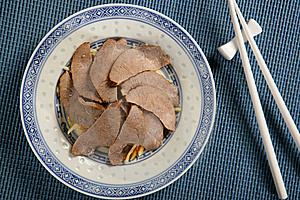 Boiled Beef Slices With Vegetables Royalty Free Stock Photos - Image: 7908318