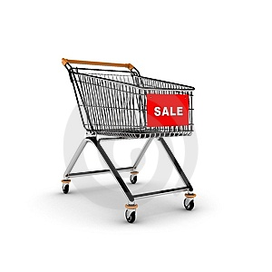 Shopping Cart Royalty Free Stock Photography - Image: 7909557
