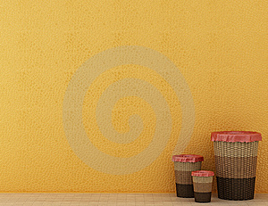 Baskets For Linen Stock Images - Image: 7909674