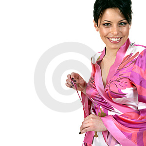 Smiling Young Woman Royalty Free Stock Photography - Image: 7910237