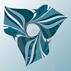 Abstract Marine Blue Background Royalty Free Stock Image - Image: 7910936