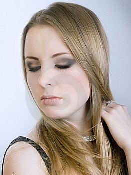 Portrait Of Beautiul Girl Royalty Free Stock Photo - Image: 7911195