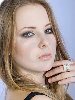 Portrait Of Beautiful Girl Royalty Free Stock Photography - Image: 7911297