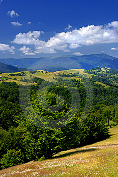 Summer Mountains Landscape Stock Photo - Image: 7912850