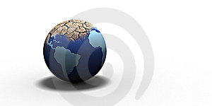 Dry Globe Royalty Free Stock Photo - Image: 7913905