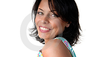Happy Smiling Woman Royalty Free Stock Photos - Image: 7915038