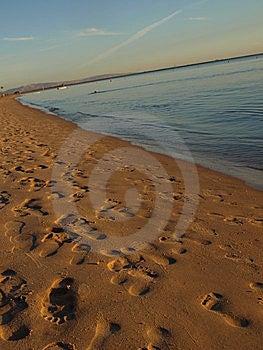At Beach. Unusual Veiw Stock Photo - Image: 7915530