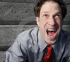 Screaming Man Stock Photos - Image: 7916823