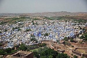 Blue City Of Jodhpur, Rajasthan Royalty Free Stock Photo - Image: 7917675