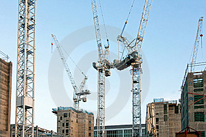 Cranes Royalty Free Stock Image - Image: 7918056