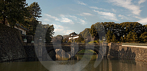 Japanese Casle In Tokyo Royalty Free Stock Photography - Image: 7919387