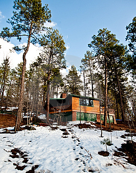Cabins Stock Photography - Image: 7919402