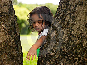 Asian Girl In A Park Royalty Free Stock Photos - Image: 7920068