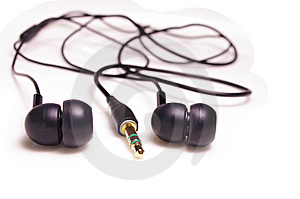 Earphones Royalty Free Stock Photos - Image: 7920158