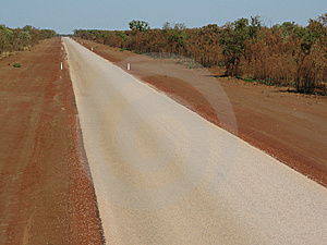 Australian Country Road Royalty Free Stock Photography - Image: 7922337