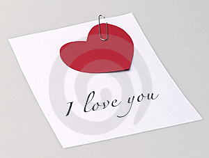 Message With Text Royalty Free Stock Photography - Image: 7924177