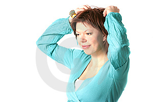 Smiling Woman Royalty Free Stock Photos - Image: 7926718