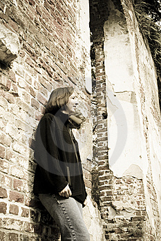 Woman In Thought Royalty Free Stock Photos - Image: 7927728