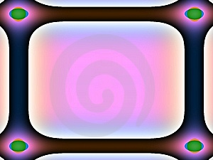 Warm Tones Frame. Royalty Free Stock Images - Image: 7927819