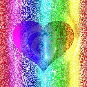 Retro Heart Royalty Free Stock Photography - Image: 7929037