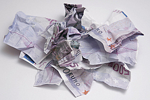 Torn Money Stock Photography - Image: 7929132