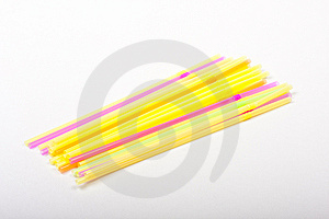 Colored Straws Stock Photos - Image: 7930953