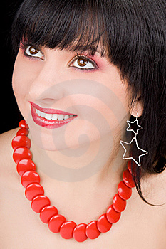 Portrait Of The Charming Woman Royalty Free Stock Photo - Image: 7930965