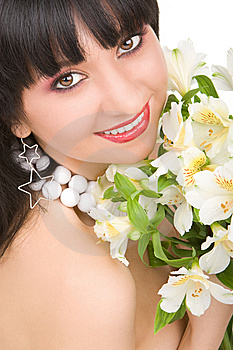 Pretty Woman Portrait Royalty Free Stock Photography - Image: 7931087