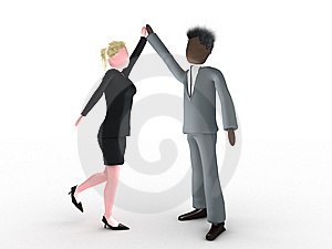 High Five Royalty Free Stock Photo - Image: 7932165