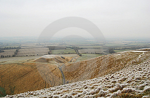 White Horse Hill Stock Photography - Image: 7932612