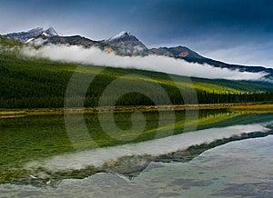 Rockies Reflection Stock Photo - Image: 7934250