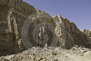 Mt. Sodom Cliff Royalty Free Stock Images - Image: 7934879