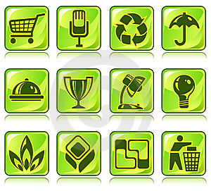 Icons Stock Photo - Image: 7936050