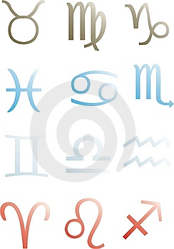 Zodiac Signs Stock Photography - Image: 7936072