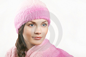 Young Beautiful Adult Woman Looking From Camera Royalty Free Stock Images - Image: 7937839