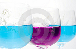 Three Wineglass Royalty Free Stock Photo - Image: 7943375