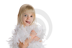 Little Girl Royalty Free Stock Images - Image: 7944169