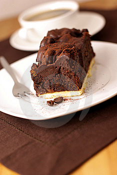 Chocolate Cake Stock Image - Image: 7945441