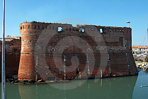 Livorno Castle Stock Photo - Image: 7946050
