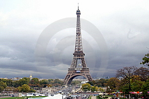 Eiffel Tower WC 2007 II Stock Images - Image: 7946124