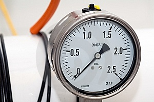 Pressure Gauge Royalty Free Stock Photography - Image: 7946617