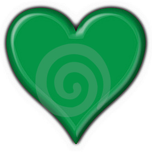 Lybia Button Flag Heart Shape Royalty Free Stock Photo - Image: 7949725