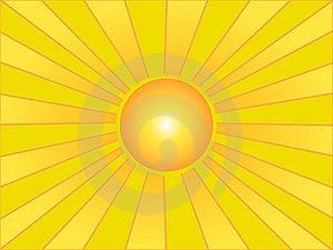 солнце лета Стоковые Изображения - изображение: 7951054