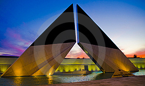 Monument To The Heroes Of Overseas Stock Photography - Image: 7951572