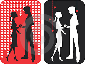 Pair Of Falling In Love Stock Photography - Image: 7952002