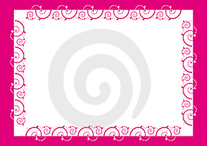 Frame Design, Center Piece (Design Element Frame) Stock Photography - Image: 7952542