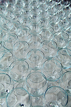 Many Wine Glasses Stock Photos - Image: 7952993