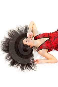 Glamour Woman Portrait Royalty Free Stock Photos - Image: 7953008
